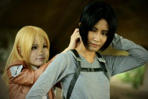 [Shingeki no Kyojin - Ymir/Christa] Care by Seiran-Kisaragi