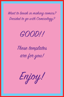 Comixology Template Set by Elehisie