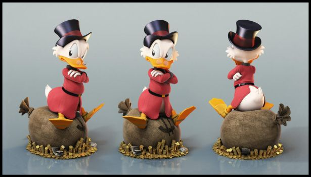 Uncle Scrooge: Grumpy by EderCarfagnini