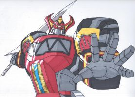 Megazord Sequence has been Initiated by RobertMacQuarrie1