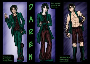 Stages of Daren by ShadyMeadows