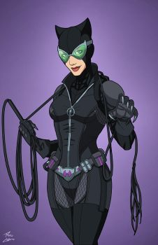 Catwoman (E-27: Enhanced) commission by phil-cho