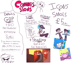COMMISSION INFO by Hattsworth