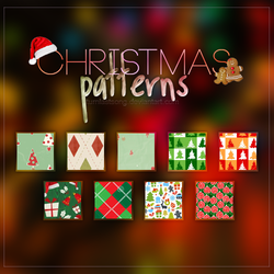 Xmas Patterns by turnlastsong