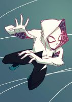 Gwen Stacy by Nicohitoride