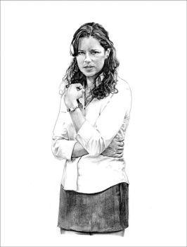 Pam from 'The Office' by RobD4E