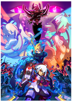 Azure Striker Gunvolt 2 by Tomycase