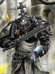 Black templar 2 by HrvojeSilic