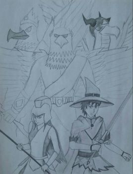 Wizard101: Challenge of the Olympians by Xyz-DragonRider
