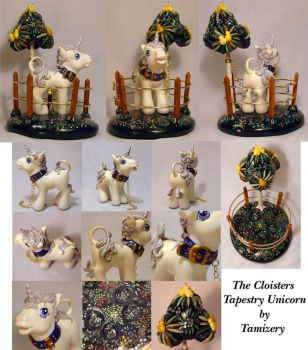 The Cloisters Tapestry Unicorn by Tamisery