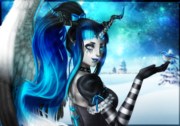 [Gift] Lacrima ~ Snow Angel by SuiroAtair