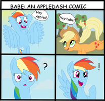 An Appledash comic by ponies-of-insanity