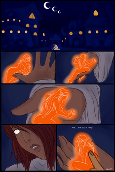 Love is blind and a lucky spark, page 3 by LeSieur