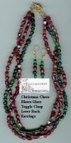 Christmas Cheer Jewelry Set by leopardwolf