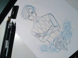 Jumin in progress! by NaniiArt