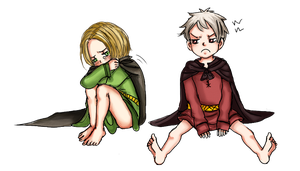 APH: Pooh and Po by Assby