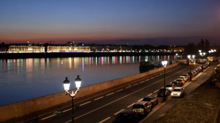 Bordeaux. Right riverside by inatheblue