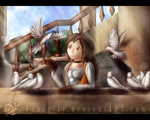 FF IX - A song of Memories by Azurelly