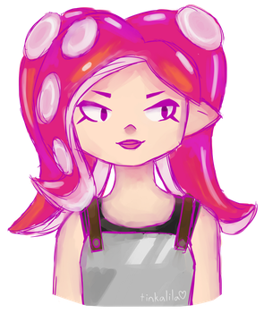 octoling by Tinkalila