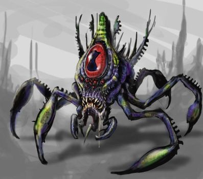 Bvorian land crab by skullbeast