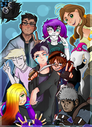Squad Goals by Ch4rm3d