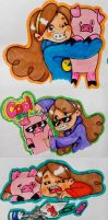 Mabel and wables by yhoss