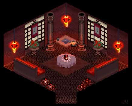Red Temple by lenstu82