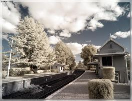 Exeter Station IR by JohnK222