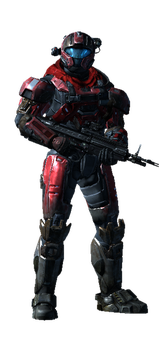 My Halo Reach Spartan by thewarboys54