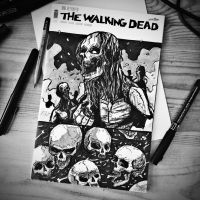 the walking dead by motsart