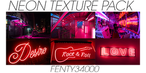 Neon Texture Pack #11 by Fenty34000