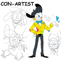 the con artist by conyponey