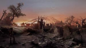 Sydney Post Apoc by Anocha