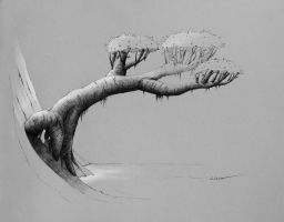 Tree Of Life (from my sketchbook) by lorantart