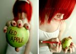 Red Apple by brooze