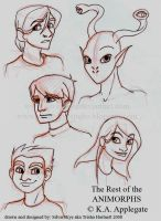 The rest of the Animorphs by SilverSkye