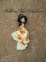 Carpa-Koi Mermaid Polymer Clay by Nakihra