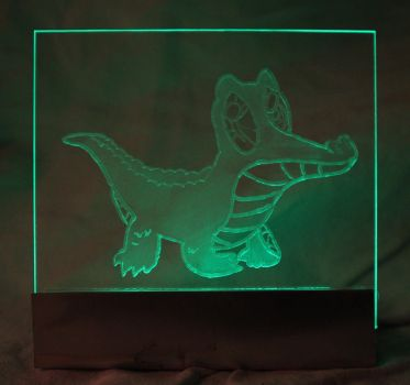 Gummy Acrylic LED Picture by steeph-k