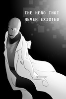 .: Gaster comic cover :. by IronicalGhosty