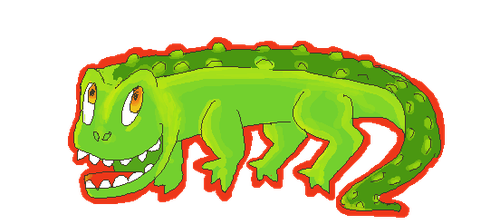 Happy Croc by Arctic-Novian