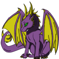 Babeh Dragon by Solaria-of-Hyrule