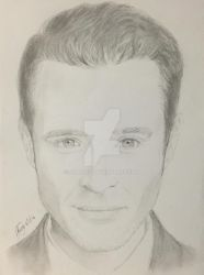Kevin Ryan - Drawing by skruffi3