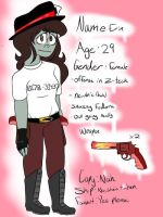 Erin, new oc reference  by BlueNoodleZ