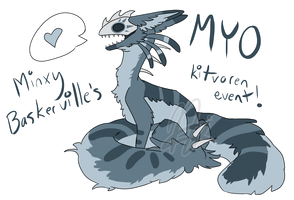 kitvoren MYO event CLOSED by MinxyBaskerville
