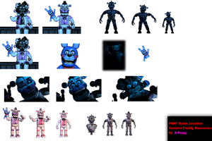 FNAF Sister Location: Funtime.Freddy Resources by TheRealPAZZY