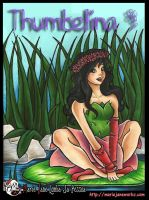 Thumbelina ~ Cover Art by MarieJaneWorks