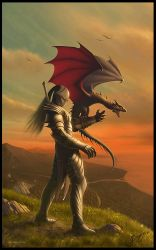 The Dragon Tamer by Deligaris
