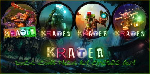 Krater - Dock Icons Pack by courage-and-feith