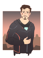 Infinity War_Stark by Defektess