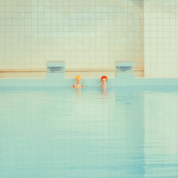 Swimming pool_swimmers by mariasvarbova